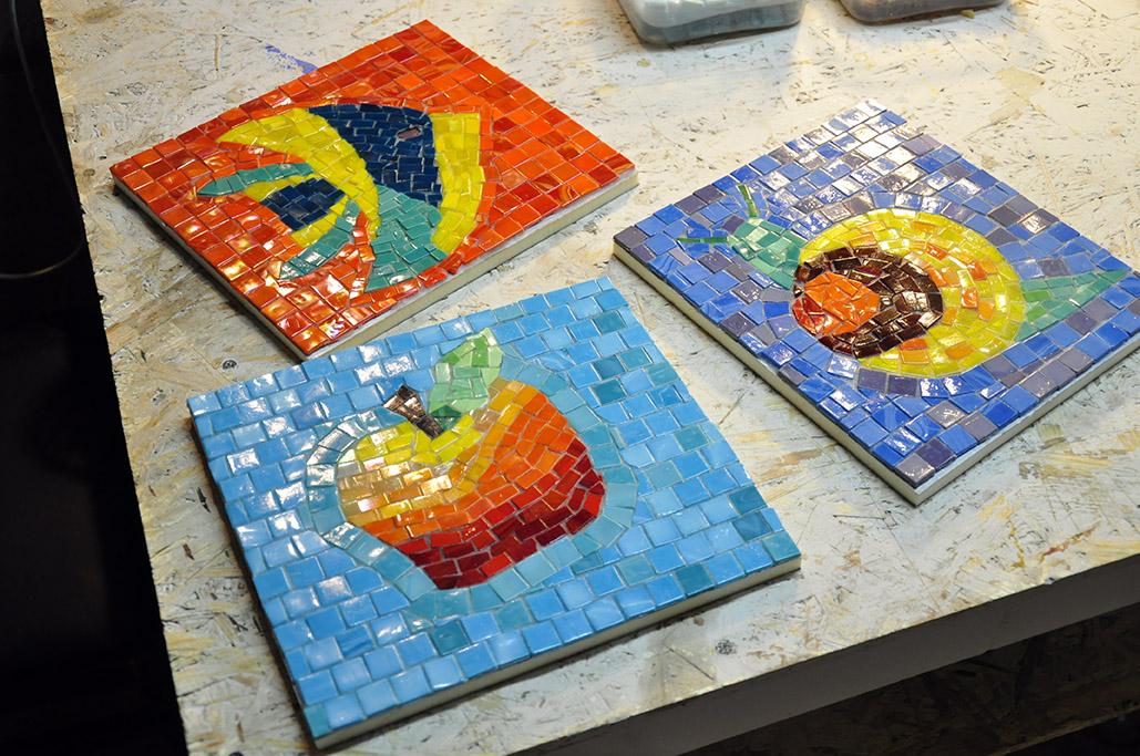мозаики детям руками панно из своими